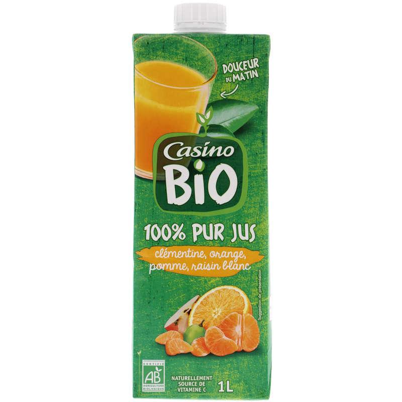 CASINO BIO Pur jus - Douceur du matin - Clémentine - Orange ...