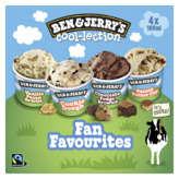 Ben & Jerry's BEN & JERRY'S The fan-vourites cool-lection - Crème glacée -... - 4x100ml