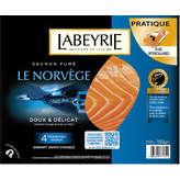 LABEYRIE Le Norvège - Saumon fumé - Doux et délicat - 4 tranches