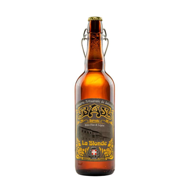 Bière Blonde de Savoie BAS