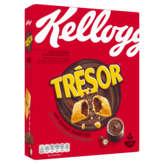 Kellogg's KELLOGG'S Trésor - Céréales chocolat noisettes - 375g