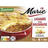 Marie MARIE Lasagnes à la bolognaise surgelées - 600 g