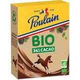 Poulain Chocolat En Poudre - 34% De Cacaco - Biologique - 350g