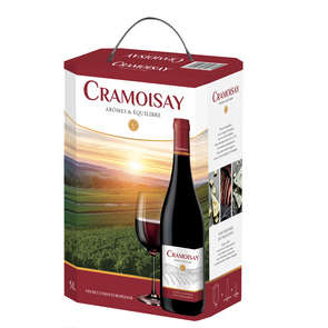 Cramoisay - Vin de table rouge - Bib