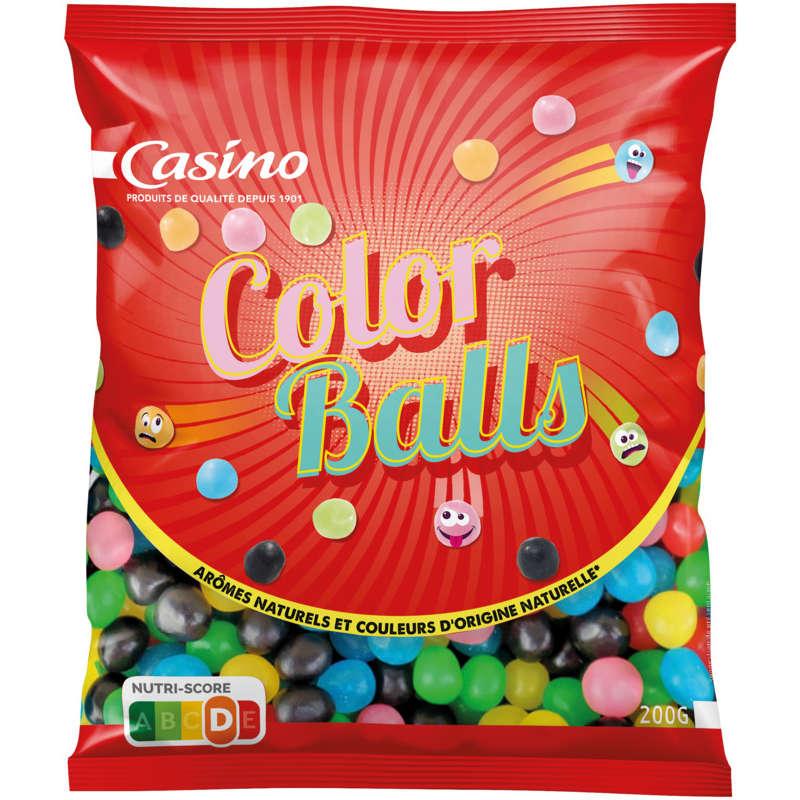CASINO Color balls - Confiserie gélifiée aromatisée