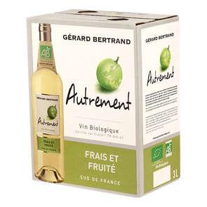 Autrement - Vin blanc du Sud de France - Frais et Fruité - Biologique