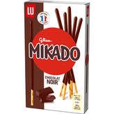 LU Lu Mikado - Biscuits Nappés Chocolat Noir - 90g