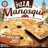 La Pizza de Manosque - Chèvre-miel - Mozzarella-emmental - Surgelé... - 380g