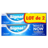 Signal SIGNAL White now - Dentifrice - Blancheur instantanée - 2x75ml