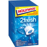 Hollywood 2 Fresh - Chewing Gum - Pepermint - 6