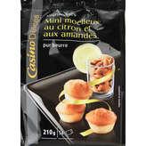 CASINO DELICES Mini moelleux citron 210g