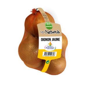 Oignons jaunes - Sans résidu de pesticides - Cat. 1 - Cal. 50/70 - France