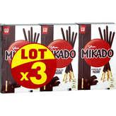 LU Lu Mikado Chocolat Noir - 3 X 90 G