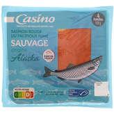 CASINO Saumon rouge du Pacifique fumé - Sauvage -