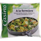 La Fermière CASINO Poêlée fermière - Poêlée de légumes et pommes de terr... - 700g