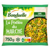 Bonduelle BONDUELLE La Poêlée du Marché - Dés de brocolis et carottes,... - 750g