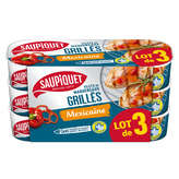 Saupiquet SAUPIQUET Filets de maquereaux grillés - A la Méxicaine, Fin... - 3x120g