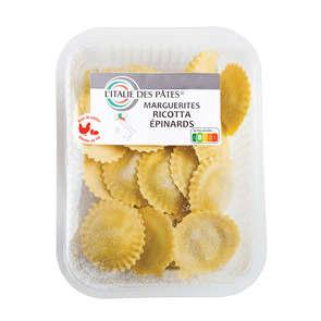 Marguerites - Pâtes - Ricotta - Epinard