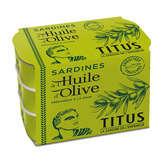 Titus Sardine À L'huile D'olive - 3x125g
