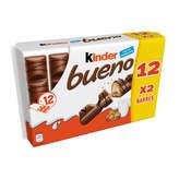 Kinder Kinder Kinder Bueno - Lait Et Noisettes - X12 - 5