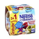 Nestle jus de fruits pommes peches 3x20cl