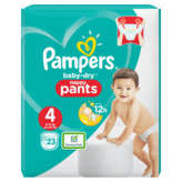 Pampers Baby Dry - Culottes Pants - Taille T4 - X
