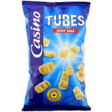CASINO Tubes - Goût salé 85g