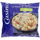 CASINO Conchiglies poulet champignons 900g