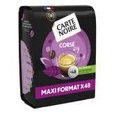 Carte Noire Corsé - Café - Dosettes - Intensité 5 - X48