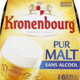 Kronenbourg Bière Sans Alcool - Pure Malt - 6x25cl