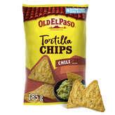 Old el paso chips std crunchy chili 185g - ( Prix Unitaire ) - Envoi Rapide Et Soignée