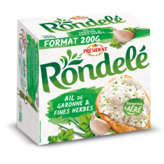Rondelé Fromage Ail Et Fines Herbes 33%mg - 200g