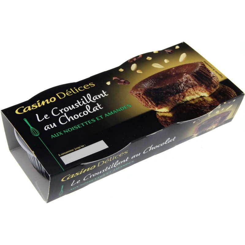 Le croustillant au chocolat noir