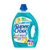 Super Croix SUPER CROIX Lessive liquide - Bora Bora - Fleur de monoï & l... - 2,15l