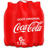 Coca Cola L'original - Soda Cola - 6x1,75l
