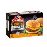 Charal Cheese Burgers Surgelés - 840g