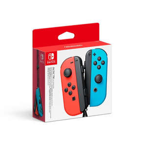 Manette SWITCH Joy-con bleu et rouge