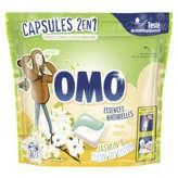 Omo Omo Lessive Capsules 2en1 - Lilas Blanc & Ylang Ylang ... - ... - X