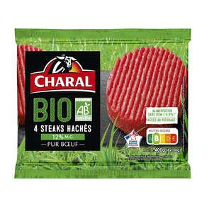 Steak haché 15%MG - x4 - Biologique