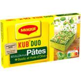 Maggi Kub Duo - Bouillon Pour Pâtes - Basilic Et Huile D'oli... - X10