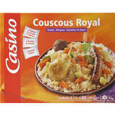 CASINO Couscous royal - Poulet merguez boulettes d