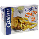 CASINO Fish'n chips - Frites 600g
