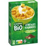 CASINO BIO Céréales fourrées - Chocolat noisettes
