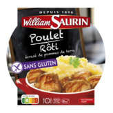 William saurin assiette mico-ondable poulet rôti écrasé 300g - ( Prix Unitaire ) - Envoi Rapide Et Soignée