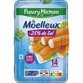 Fleury Michon Bâtonnets De Poisson - Teneur En Sel Réduite -... - X14