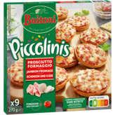 Buitoni BUITONI Piccolinis prosciutto formaggio - 9x30g