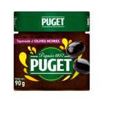 Puget tapenade noire pot 90 g - ( Prix Unitaire ) - Envoi Rapide Et Soignée