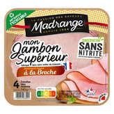 Madrange Le Gourmet - Jambon - Lentement Braisé À La Broche - X4