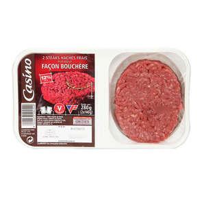 Steaks hachés basse pression - 12% mg