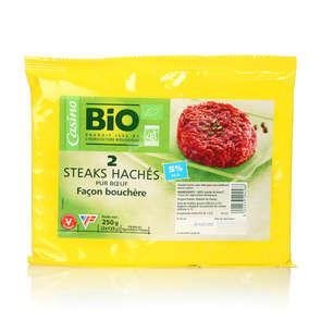Steak haché bio 5% MG - x2